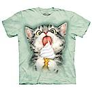 摩達客 美國進口The Mountain 冰淇淋貓咪 純棉環保短袖T恤