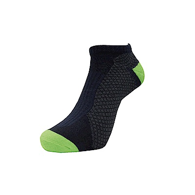 AREX SPOR 足弓支撐機能慢跑襪-男-黑綠