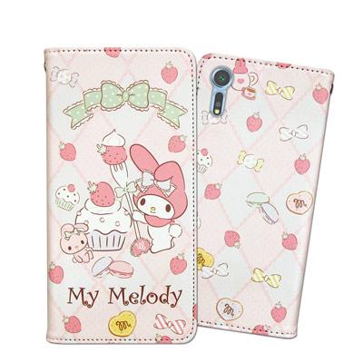 三麗鷗 Melody SONY Xperia XZs / XZ 甜心磁扣皮套(草...