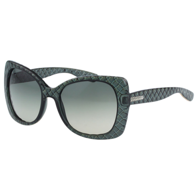 BOTTEGA VENETA太陽眼鏡 (透明綠色) BV209S