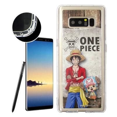 航海王夥伴系列 Samsung Galaxy Note8 空壓殼(喬巴&...