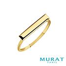 MURAT Paris米哈巴黎 極簡長方戒指(金色款)