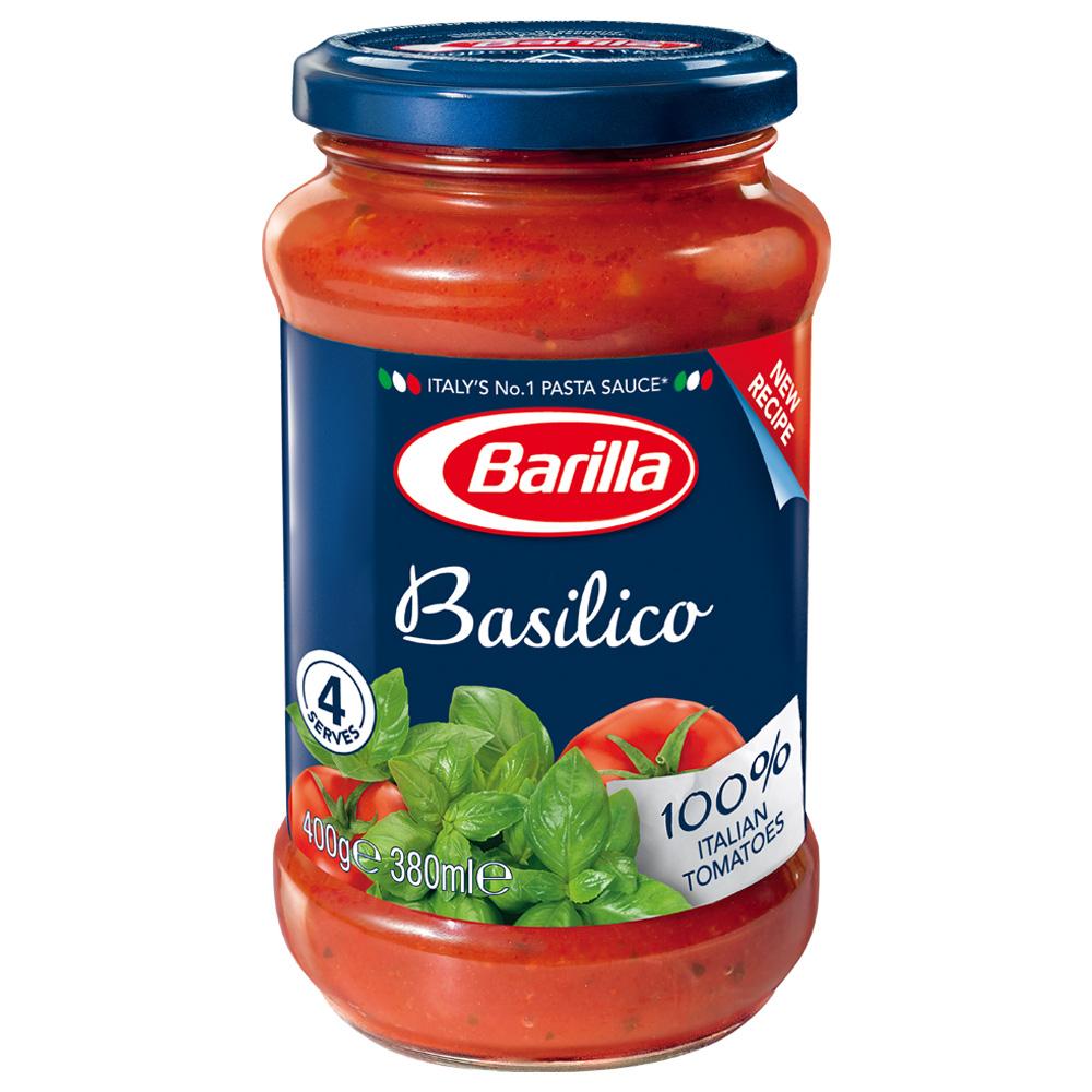 百味來Barilla 羅勒蕃茄義大利麵醬(400g)
