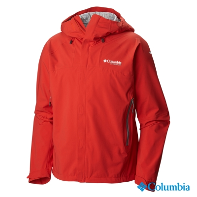 Columbia哥倫比亞-單件式防水快排外套-紅色