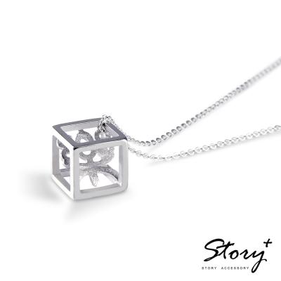 STORY ACCESSORY-方塊字-漢字訂製925純銀項鍊