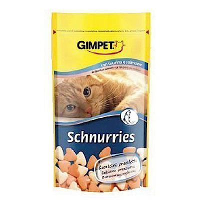 德國 Gimpet GIMBORN竣寶 貓點心 鮭魚牛奶錠 40g (10包組)