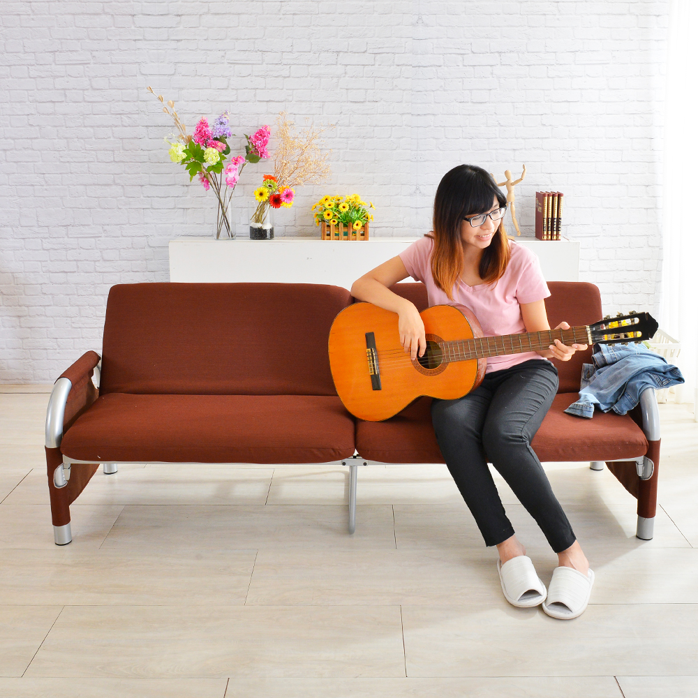 四季良品 機能型四人坐沙發床(多色可選)