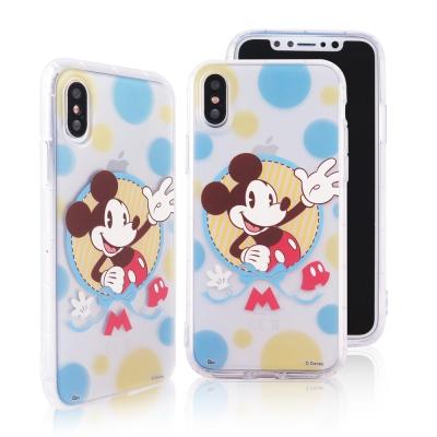 Disney迪士尼iPhone X彩色泡泡防摔氣墊空壓保護套