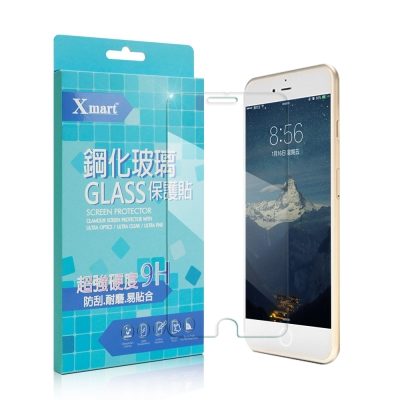 X mart Appel iPhone 7 Plus 5.5吋 強化耐磨防指紋玻...