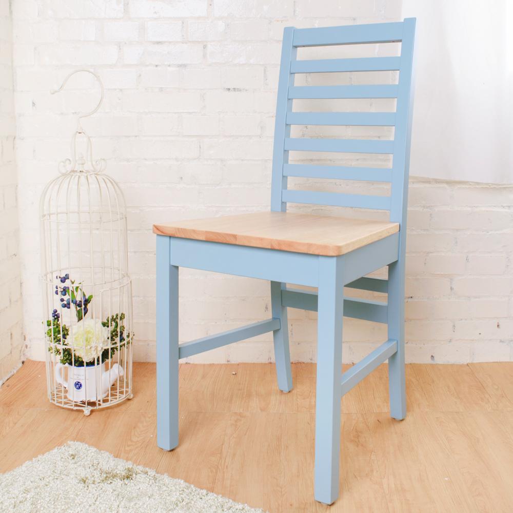 Bernice-貝莉鄉村風實木餐椅(4入組)