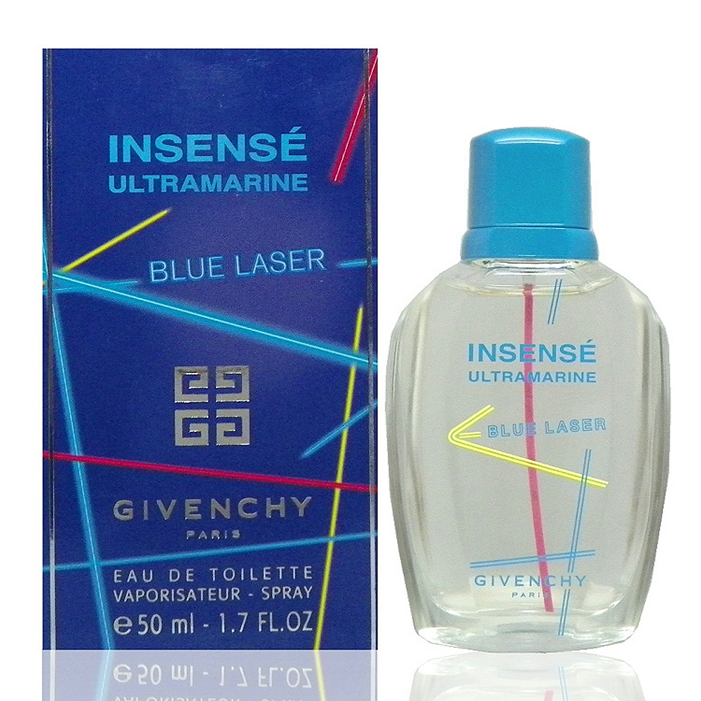Givenchy Ultramarine Blue Laser 曙光炫彩淡香水 50ml product image 1