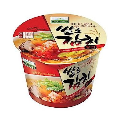 韓味不二 七甲泡菜米麵線杯裝(84g)