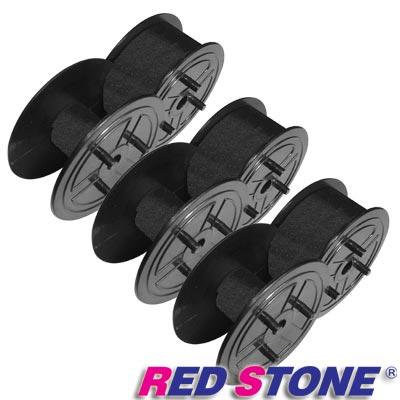 RED STONE for 黑色圓盤 收銀機/記錄器 色帶(1組3入)