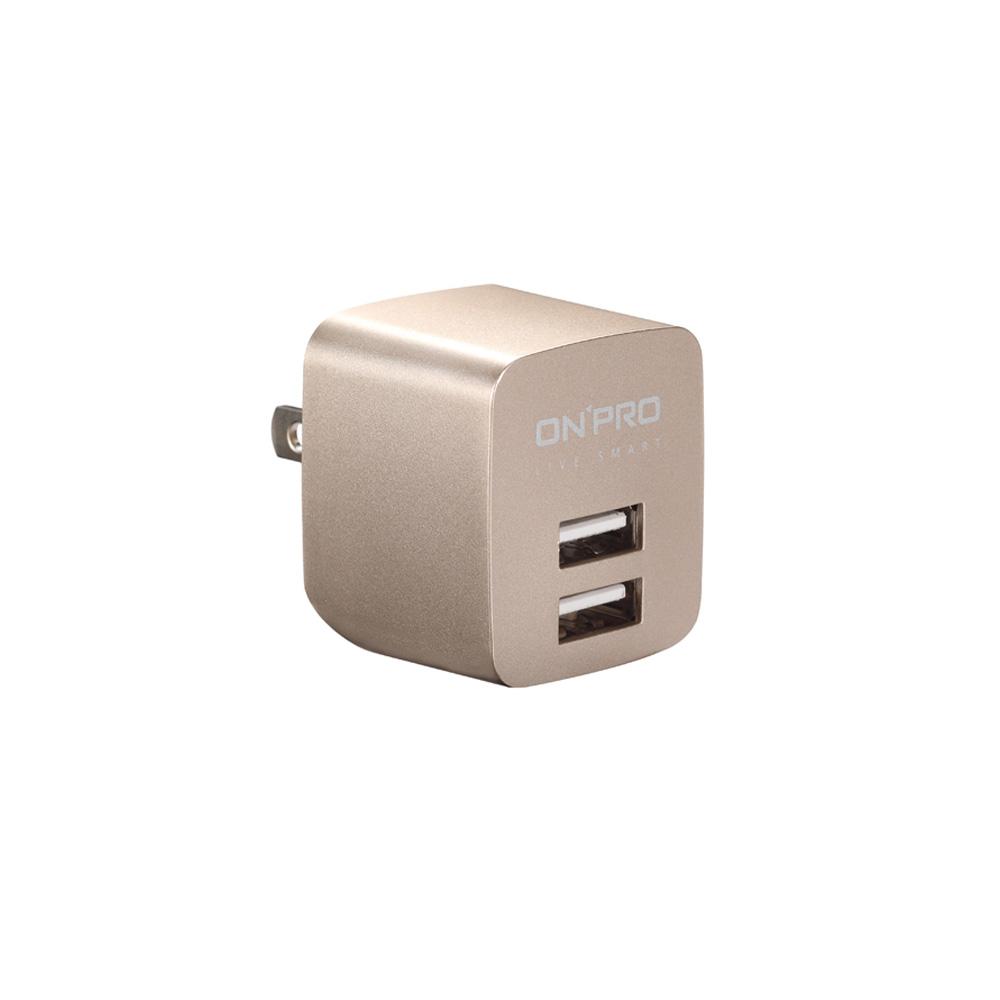 ONPRO UC-2P01 雙USB輸出電源供應器/充電器(5V/2.4A) product image 1
