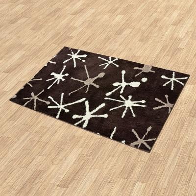 【Ambience】Iris 超細纖維長毛地毯- 晶彩 (60x100cm)
