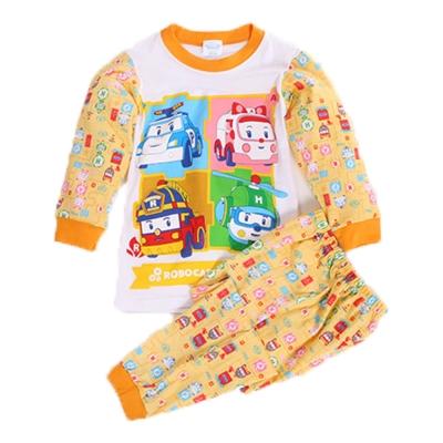 POLI純棉防蚊布套裝 黃 k60243