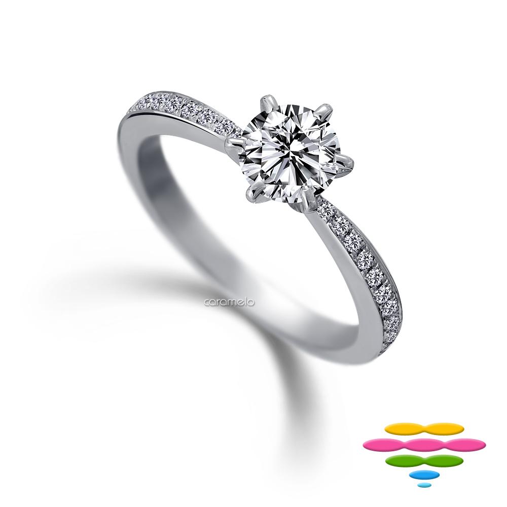 彩糖鑽工坊 19分鑽石戒指 愛在蔓延系列