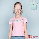 JJLKIDS 貝殼螃蟹流蘇點綴短袖T恤(2色)