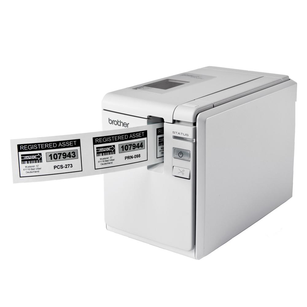 brother PT-9700PC超高速財產標籤條碼列印機