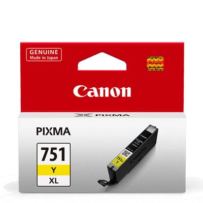 CANON CLI-751XL-Y 原廠黃色高容量XL墨水匣 @ Y!購物