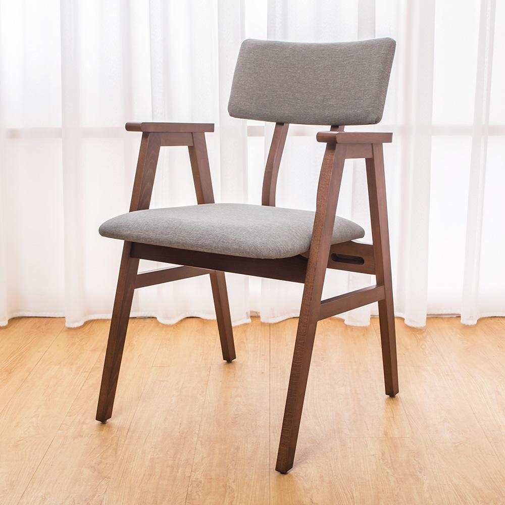 Bernice-伊娃實木餐椅/單椅-54x57x82cm