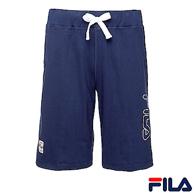 FILA-針織短褲-丈青1SHR-1412-NV