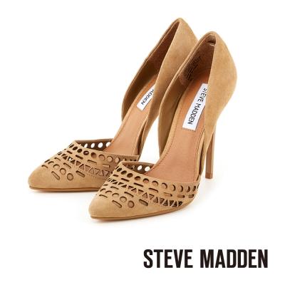 STEVE-MADDEN-優雅典範-雕花尖頭高跟鞋