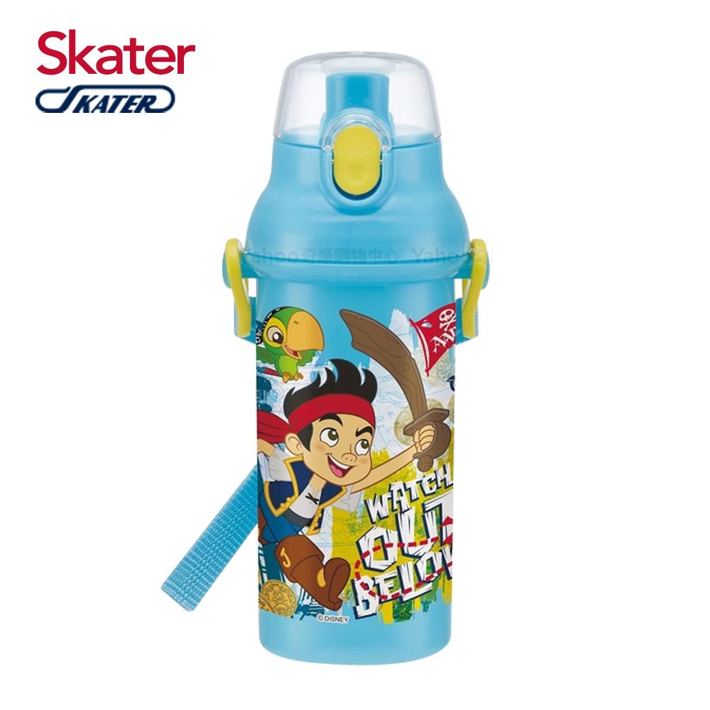 Skater直飲冷水壺 480ml 傑克與夢幻島海盜