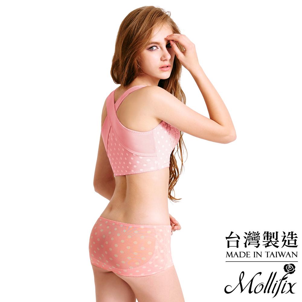 Mollifix Body偽妝術小尻UP美臀帶 M-L(腮紅粉)