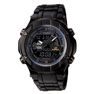 EDIFICE GOLD LABEL系列 決命狂飆賽車運動錶-IP黑/ 52 . 5 mm
