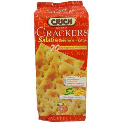 克里奇-義大利鹽味蘇打餅-500g