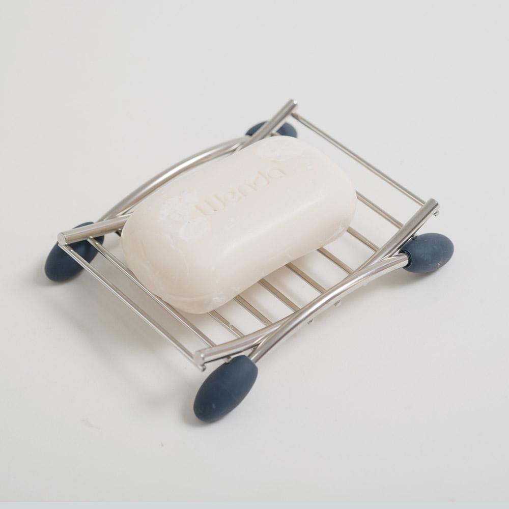 Home Feeling 不鏽鋼搖椅肥皂架-2入組