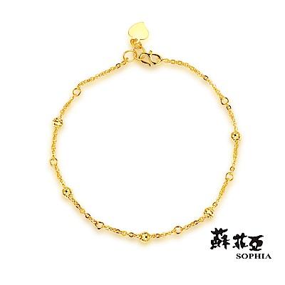 蘇菲亞SOPHIA-GLOVER系列-點點黃金手鍊