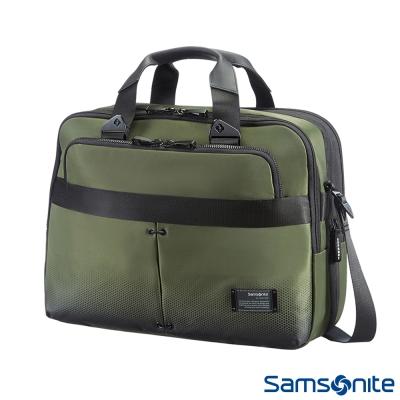 Samsonite新秀麗-CityVibe都會商務手提公事包-13吋-16吋-軍綠