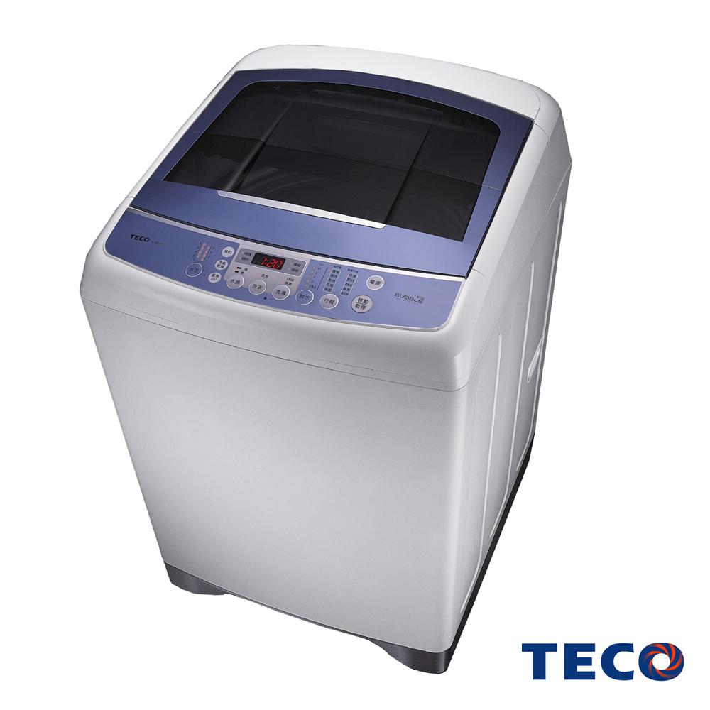 TECO東元14公斤靜音變頻超音波洗衣機W1491XW