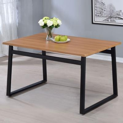 Homelike 史丹工業風4.3尺餐桌-130x80x75cm