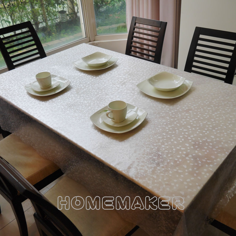 Homemaker-半透明石頭紋桌巾 (RN-TC112-001)_長150cmX寬137
