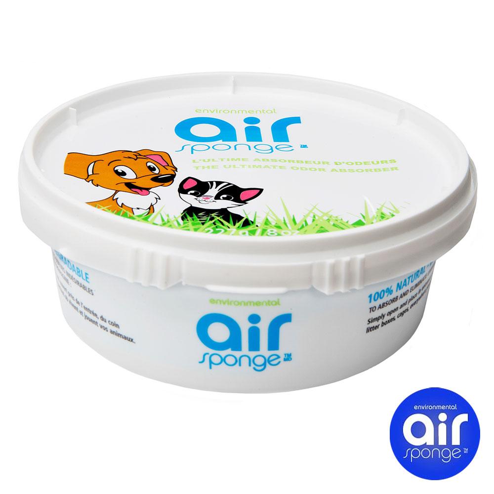 加拿大Air Sponge 活性碳空氣淨化凝膠227g 寵物家庭 場所適用