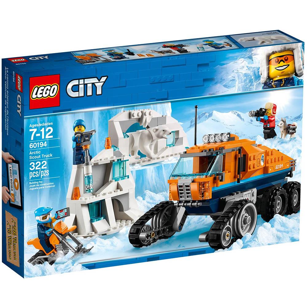 樂高LEGO 極地探險系列 LT60194 極地巡邏車