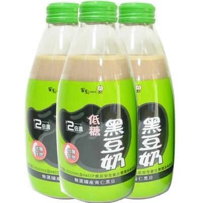 羅東農會 羅董2倍濃低糖台灣青仁黑豆奶(24瓶/箱;245ml/瓶)