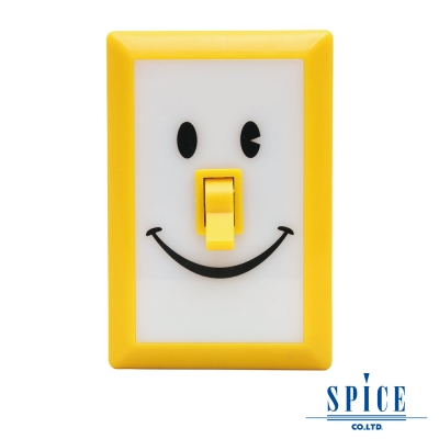 【SPICE】SMILE 蒲公英黃 微笑開關 LED 燈