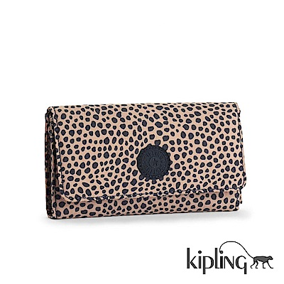 Kipling 長夾 大麥町黃黑點-小