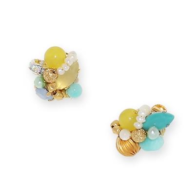 Luce Costante Petit系列天然石耳環(針式/耳扣式)