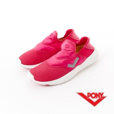 【PONY】SPLASH N系列-輕便休閒鞋-女性-桃紅