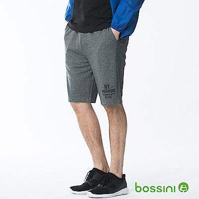 bossini男裝-休閒針織短褲02黑