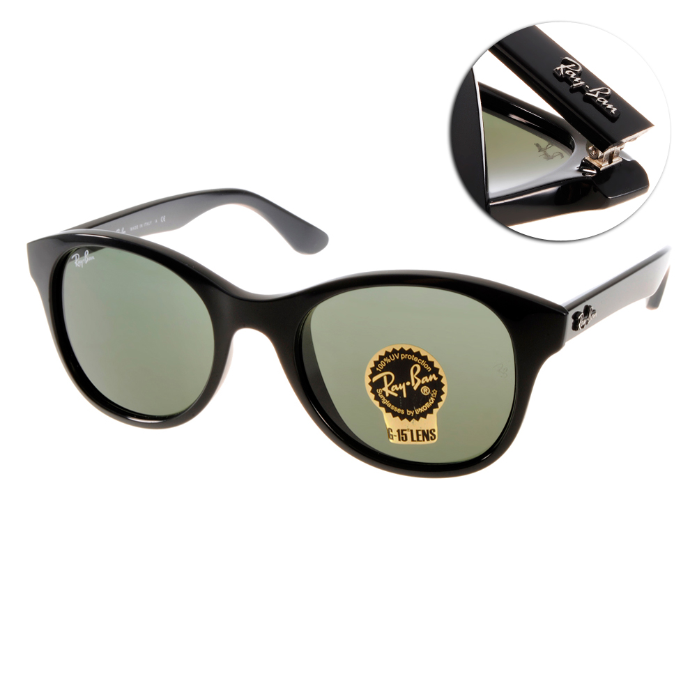 RAY BAN太陽眼鏡 經典品牌/黑#RB4203 601