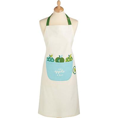 KitchenCraft 平口單袋圍裙(青蘋果)