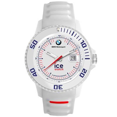 Ice-Watch BMW運動系列 摩登潮流手錶-白/48mm