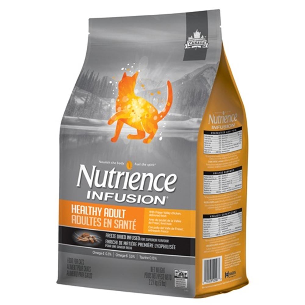 紐崔斯 INFUSION天然糧 成貓 雞肉配方 2.27KG