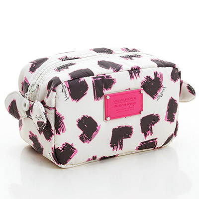 VOVAROVA空氣包-裝不滿化妝包-彩繪甜心(白)-法國設計系列
